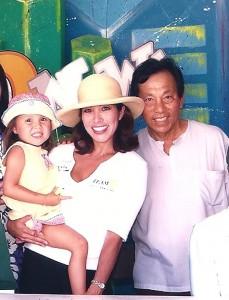 Phoebe Chongchua with Serm Chongchua
