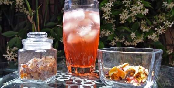Iced-Tea, Refreshing And Naturally Sweetened