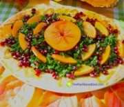 Kale, Persimmon Salad: Easy To Make And Good For Your Body