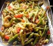Greek-Inspired Braised Green Beans
