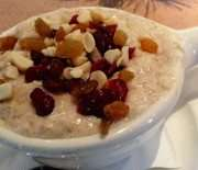 Toasted Nut Oatmeal