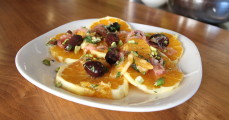 Moroccan Orange Salad on ThePlantBasedDiet.com