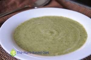 Creamy Vegan Zucchini Soup