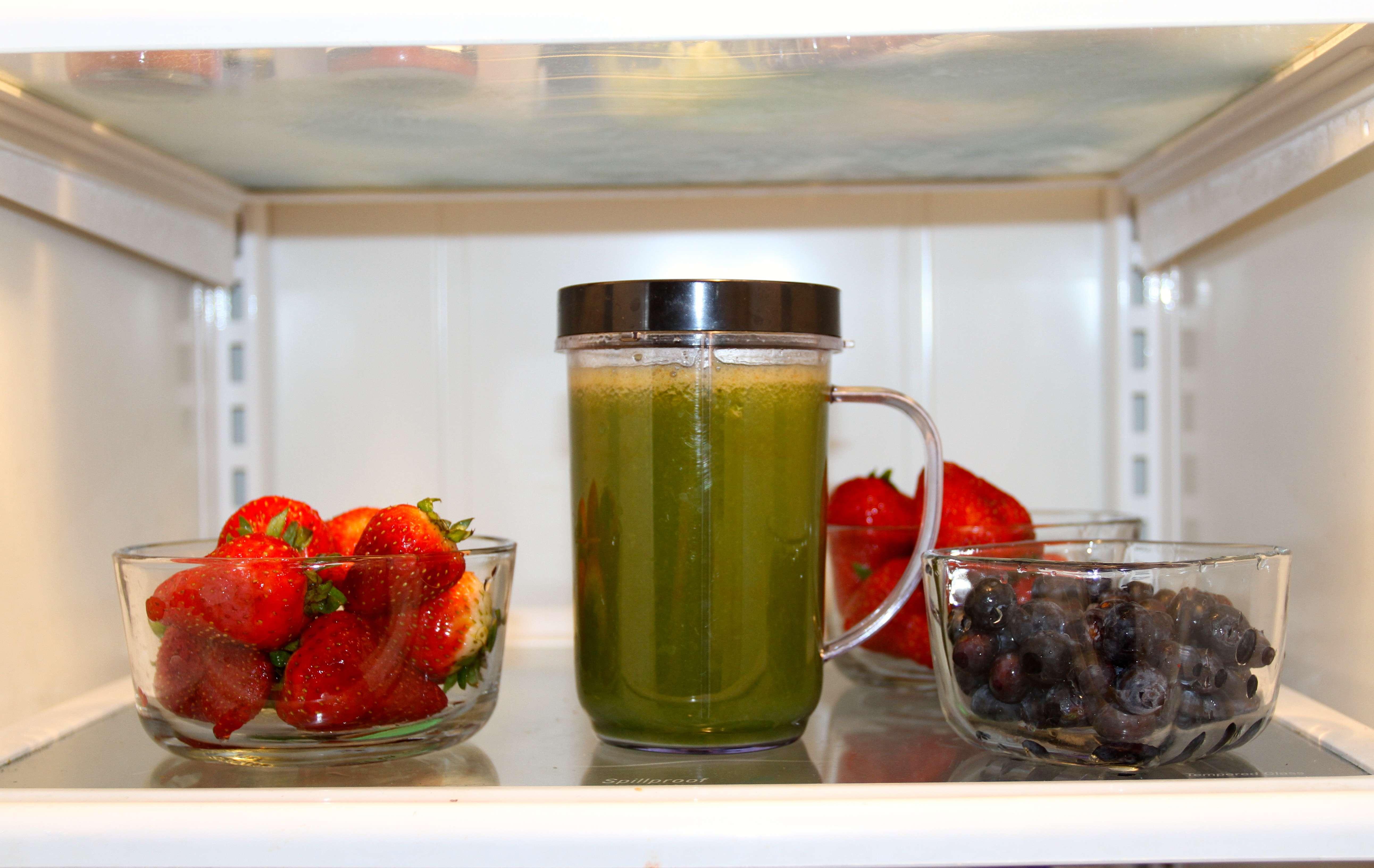 Fresh Vegetable Fruit Juice