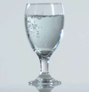 Water Glass on ThePlantBasedDiet.com